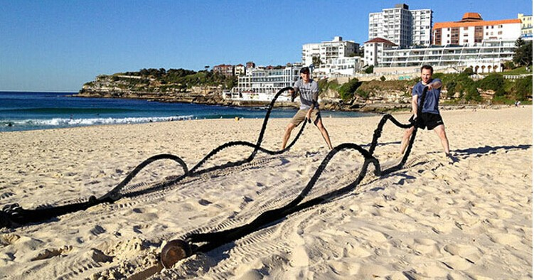 9 M * 50 MM Durevole Per Il Fitness corde Corda Palestra di allenamento Fisico battle rope - 6