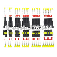 30 Sets Contain 1 2 3 4 5 6P AMP 1 5 Connectors Male And Female