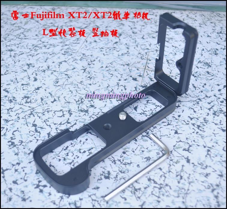 L-shaped Vertical Shoot Quick Release Plate Hand Grip Holder L Bracket Tripod Ballhead Support for Fuji Fujifilm X-T1 XT1