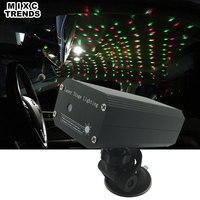 MIXC TRENDS 1 Stks USB Plug Laser Podiumverlichting Mini DJ Flash Strobe Sound activated Auto-interieur Ambient Muziek Ritme Ster licht