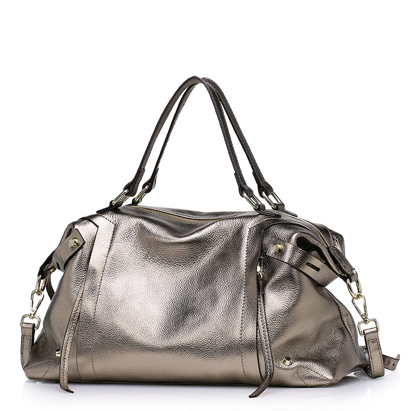 ФОТО New hot women casual tote bag large capacity women leather handbag genuine leather women crossbody bag Factory Wholesale