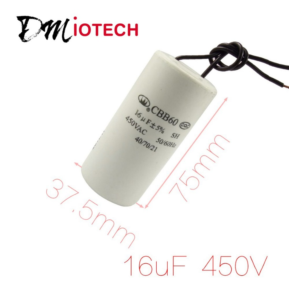 motor capacitor wiring reviews online shopping motor capacitor cbb60 ac 450v 16uf wired motor run start sh capacitor 50 60hz