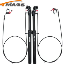 Tmars Dropper Seatpost Adjustable Height 27.2 remote Control Mechanical Bike MTB  mm 28.6 30.1 30.4 30.9 31.6 110mm