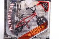 2015 Nuovo 1 PZ Professionale Flick Trix Finger Bmx Biciclette/Bicicletta/Bicicleta Divertimento Giocattolo Per I Ragazzi Con Gadget Consegna Colore casuale
