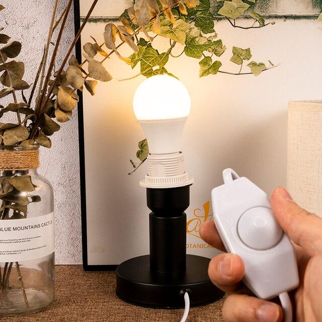 Usædvanlig LED Dimmer Schalter 1,8 M Länge Linie Kabel Licht Modulator Lampe MG95