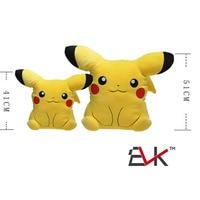 51cm Anime Cartoon XY Pikachu Pillow Plush Soft Baby Toys Dolls For Kids Chrismas Best Gift