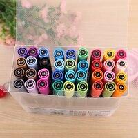 QSHOIC 36 colors/set double headed oily color marker pen graffiti pen professional art pen set