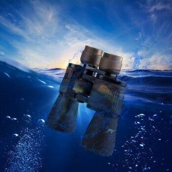Waterproof powerfull Teropong 20X50 teleskop Militer Hd Profesional Berburu Camping Kualitas Tinggi Vision No Lensa Inframerah