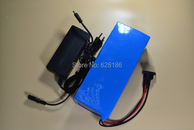 Electric Bicycle Battery 36V 12Ah Lithium ion Battery with Charger,BMS Li-ion Rechargeable Battery