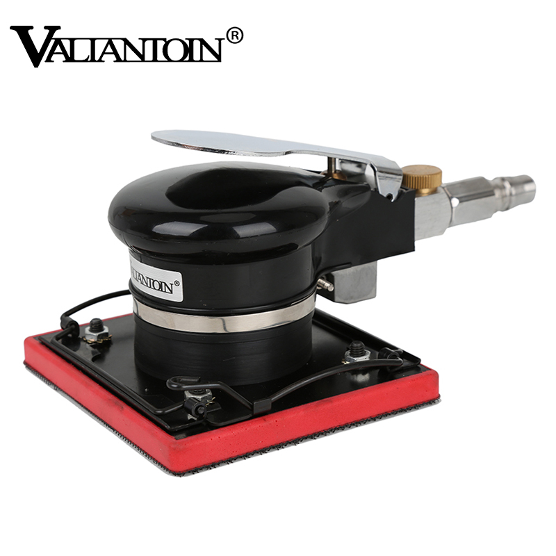 Air Sander Wood Grinding Machine Pneumatic Tools Air Orbital Sanding Machine Belt Polishing grinder vertical type abrasive belt machine polishing grinding small bench 915 sand belt