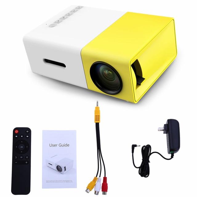 Coolux YG-300 Mini LED Mini Projector 400-600LM 1080P Video 320 x 240