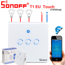 Sonoff T1 Touch Smart Switch EU WiFi & RF 86 Type Smart Wall