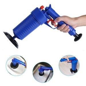 DF737Air Power Drain Blaster gun Мощный Ручной Плунжер для раковины очиститель насос для ванной туалета ванной комнаты Душ
