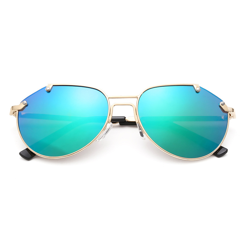 2016 New Baby Boys Girls Kids Sunglasses Vintage Round Metal Sun Glasses UV 400 Children Sunglass
