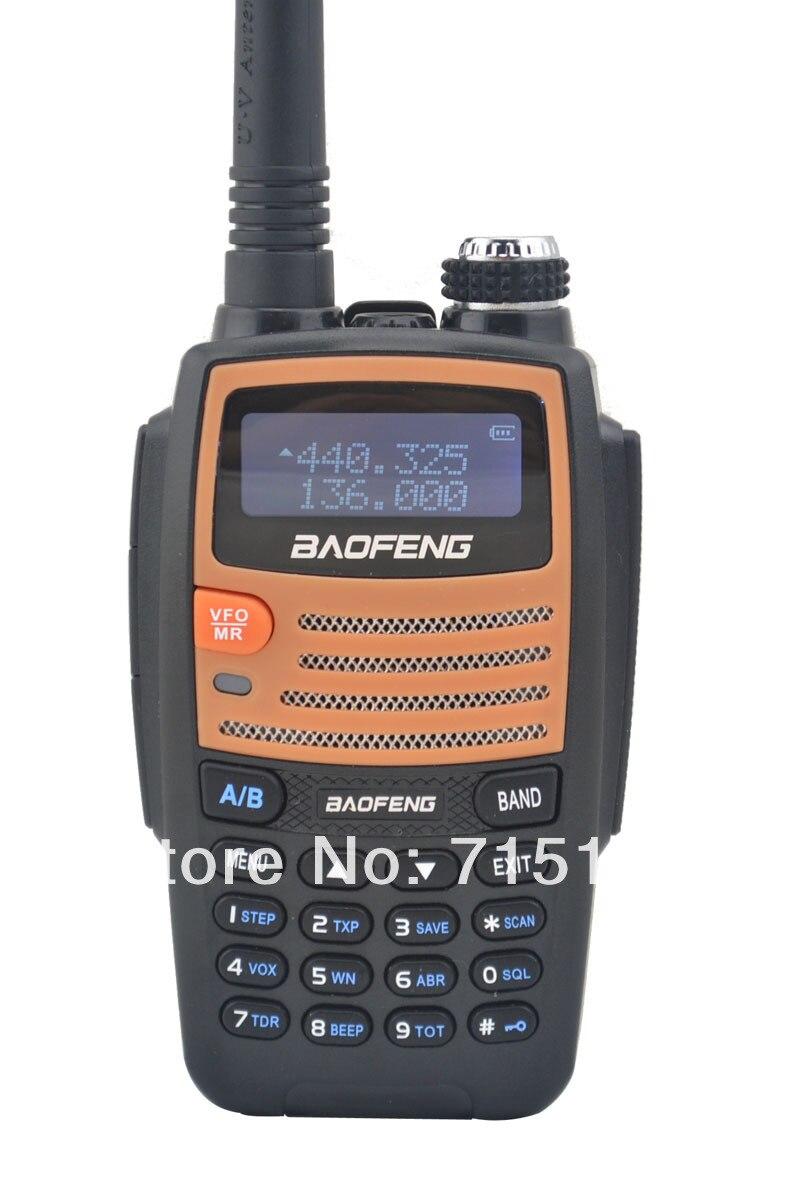 Baofeng BF-530I 136-174MHz & UHF400-520MHz Dual Band 5W/1W 128CH FM 65-108MHz With Free Earphone Portable Two-way Radio