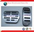 Frete grátis Liga de Alumínio AT Pedal Gás Combustível Freio de Pé de Descanso Pedais Pads Para Toyota corolla COM