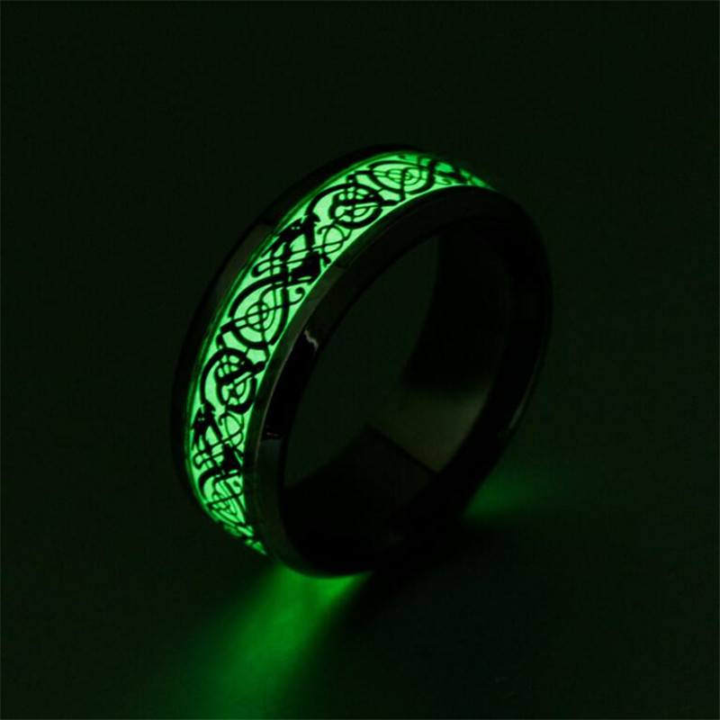 Luminous Charm Lovers Ring Bijoux Femme Fashion Jewelry Bijoux Engagement Wedding Rings  ...