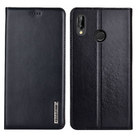 for Huawei P20 Lite Case Flip Genuine Leather Soft Silicon Back Cover for Huawei Nova 3E Cases