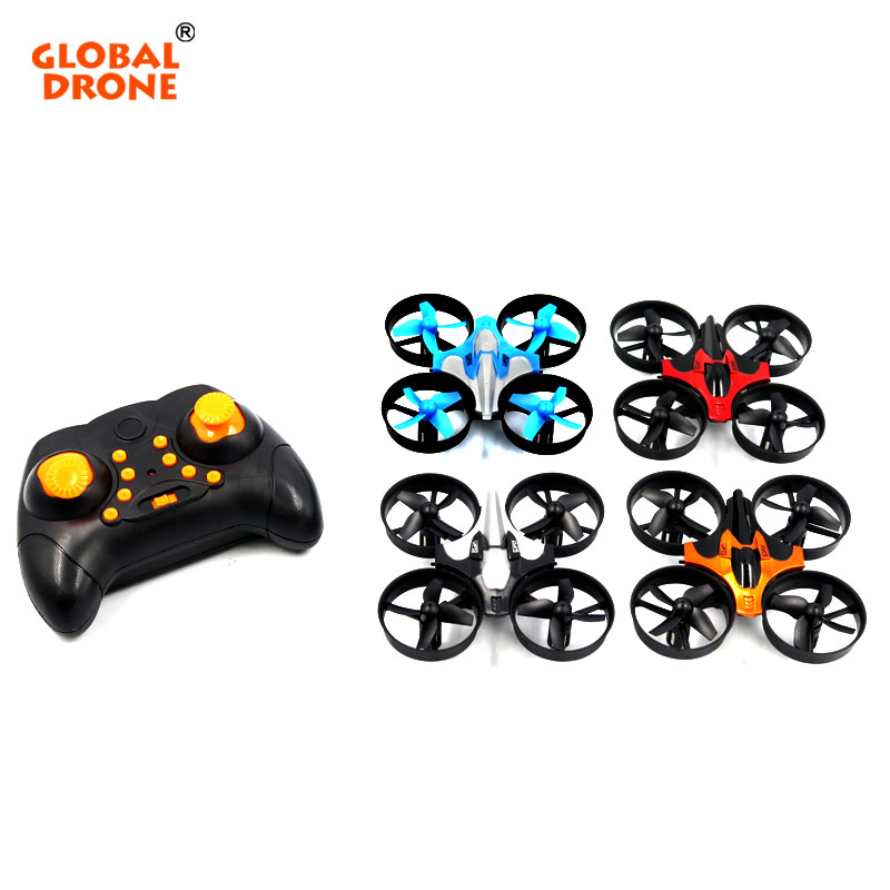 Global Drone Quadrocopter Micro Drone 6 Axis Gyro 4CH RC Helicopter Headless Mode Pocket Dron Toys For Boys Mini Drone (12)