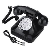 Vintage Retro Multi Function Landline phone Telephones One line Operation Home Office Business Telephone Wire Landline Phone|Telephones| |  -