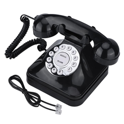 Vintage Retro Multi Funktion Festnetz telefon Telefone Ein-linie Betrieb Home Office Business Telefon Draht Festnetz Telefon