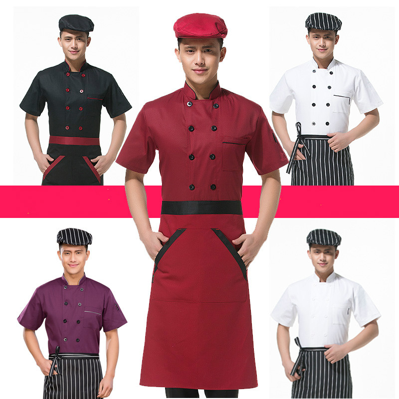 Long Sleeve Men Restaurant Chef Jacket For Cook Work Wear Hotel Breathable Double-breasted Woman Chef Uniform Kitchen Tool 89