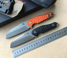 NIGHTHAWK YX2001 new knife TI-6Al-4V blade G10 handle fixed blade KYDEX sheath camping outdoor survival knife EDE tools