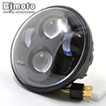 """Headlight For Harley 883 5-3/4"""" 5.75 Inch Motorcycle Projector Hi / Low HID LED Front Driving Headlamp Head Light"""
