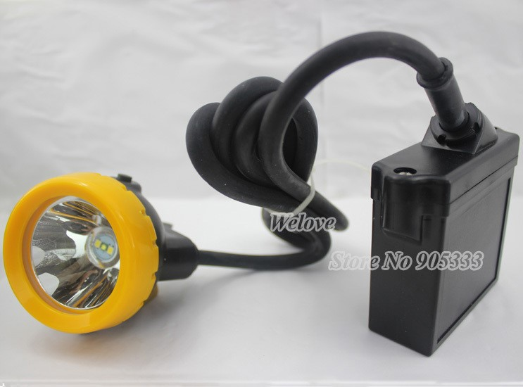 2pcs LED-uri de siguranță 5W cu LED pentru iluminatul minier de vânătoare garantat calitate de transport gratuit