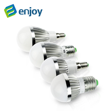 E14  LED E27 lamp IC 5W 10W 15W 220V 230V 240V LED Lights Led Bulb bulb light lighting high brighness Silver metal