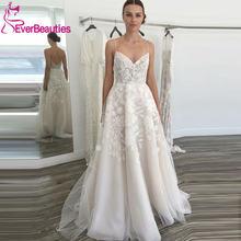 Кружевные свадебные платья в стиле бохо фатиновые трапециевидные