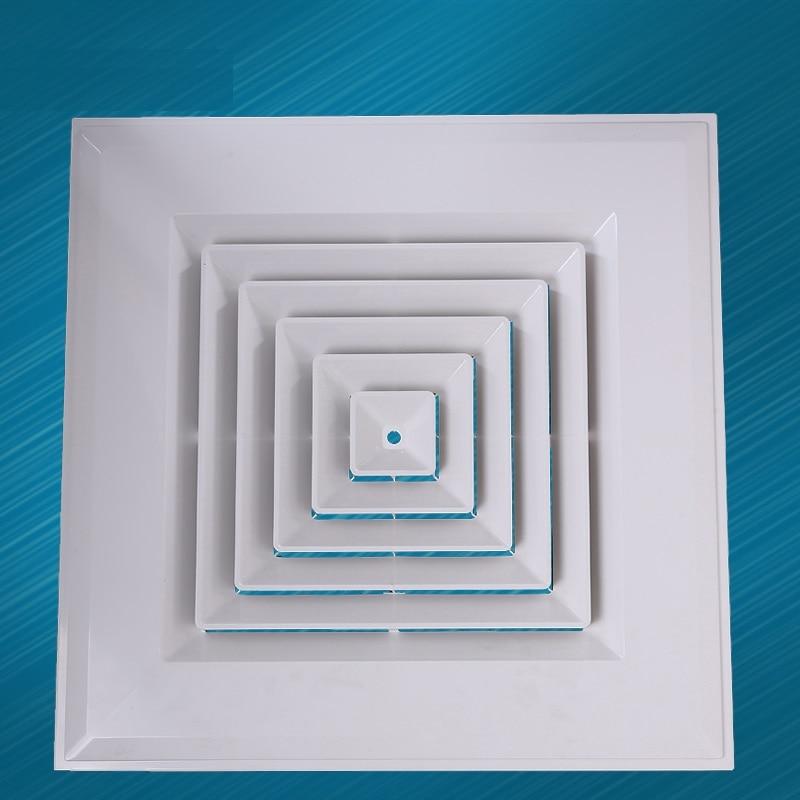 12 Quot 12 Quot 300 300mm Square Plastic Abs Ceiling Diffuser