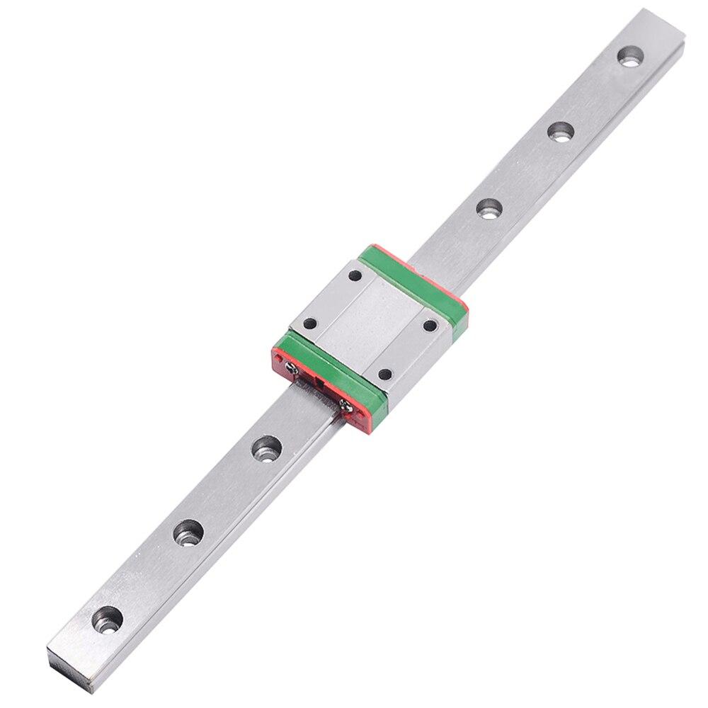 CNC partie MR15 15mm guide de rail linéaire MGN15 longueur 600mm avec mini MGN15C chariot de bloc linéaire guide de mouvement linéaire miniature