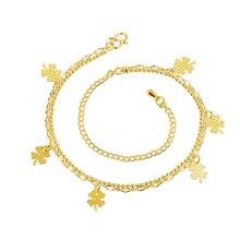 Wholesale New Fashion Women Fine Jewelry Woman Zircon Anklets Bracelet Female Foot Chain YMW-ZD111