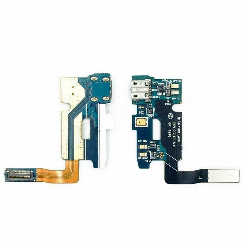 Konektor USB Port Pengisian Kabel Fleksibel Untuk Samsung Galaxy Note 2 N7100 micro usb port Flex Suku Cadang Pengganti