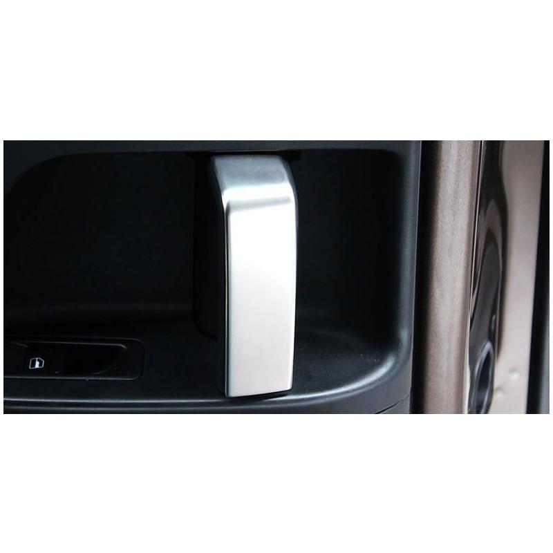 lsrtw2017 car middle seat door handle trims for volkswagen sharan 2011 2012 2013 2014 2015 2016 2017 2018 seat Alhambra