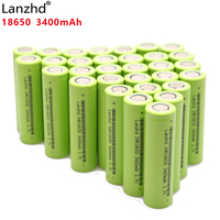 2018 NEW Original INR18650 3400 mAh battery 18650 30Q 30A discharge Rechargeable Li ion Batteries for Electric tools