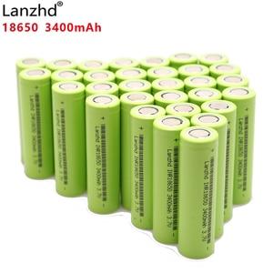 Image 1 - Оригинальные Литий ионные аккумуляторы INR18650 3400 мАч, разряжаемые 18650 30Q 30A для электрических инструментов, 2020