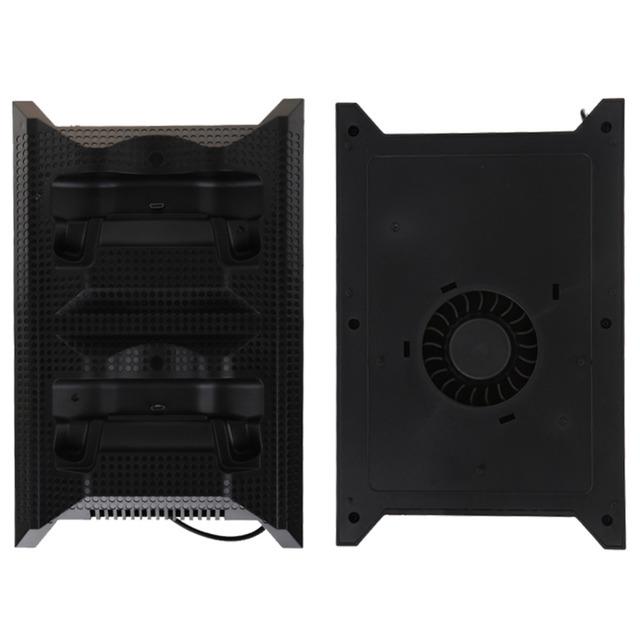 Accesorios del juego de doble estación de carga con ventilador de refrigeración para xbox one ventilador enfriador