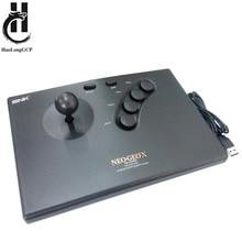 NEOGEO X 아케이드 스틱 조이스틱 게임 패드 컨트롤러 용 snk 용 PC 용 NEOGEOX 용 USB 아케이드 스틱