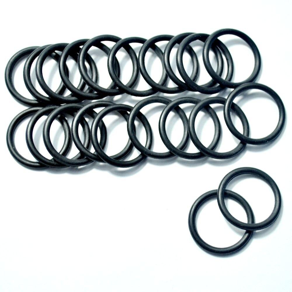 100 stücke Schwarz O ring motoren mit bürstenlosen motor flugmodelle ...