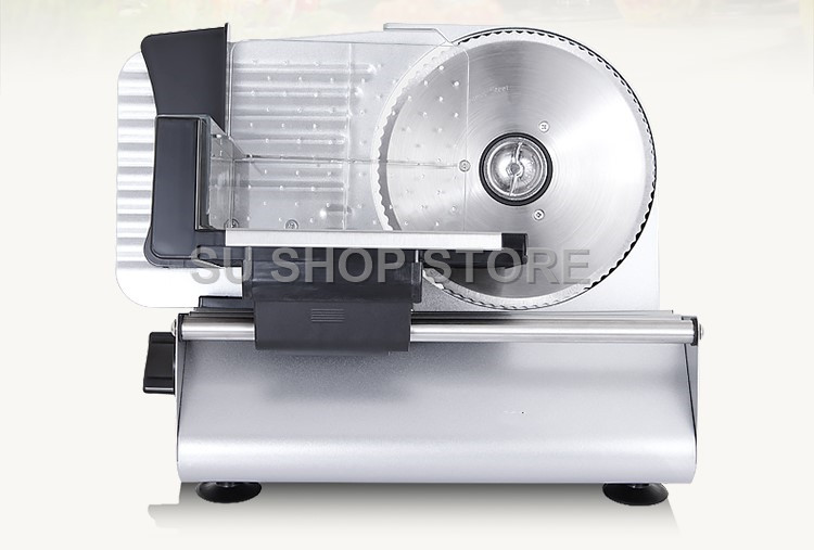 COMMERCIAL MEAT SLICER Electric Meat Cutter Sliceable Pork Frozen Meat Cutter Slicer Cutting Machine 220V commercial slicer meat slicer electric meat slicer cut pork cut vegetables stainless steel diced machine automatic