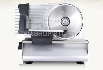 COMMERCIAL MEAT SLICER Electric Meat Cutter Sliceable Pork Frozen Meat Cutter Slicer Cutting Machine 220V