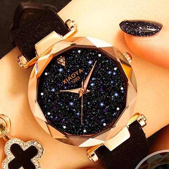 Women Bracelet Watch 2018 Luxury Zegarek Damski Starry Sky Wrist Watch For Ladies Female Clock Relogio Feminino Reloj Mujer Wach
