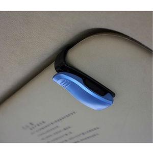 Image 3 - Luxus Auto Brillen Halter Clip Sonnenbrille Halter Rahmen Universal Auto Styling Gläser Clip Autos Zubehör