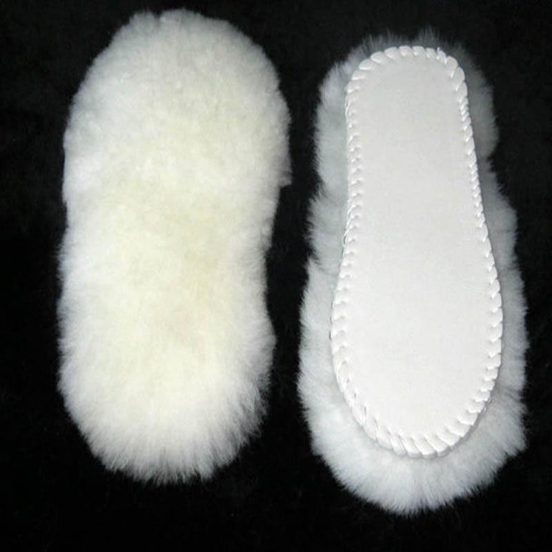 NANCY TINO Unisex inlegzolen voor snowboots dikke schoenen echt bont - Schoenaccessoires - Foto 3