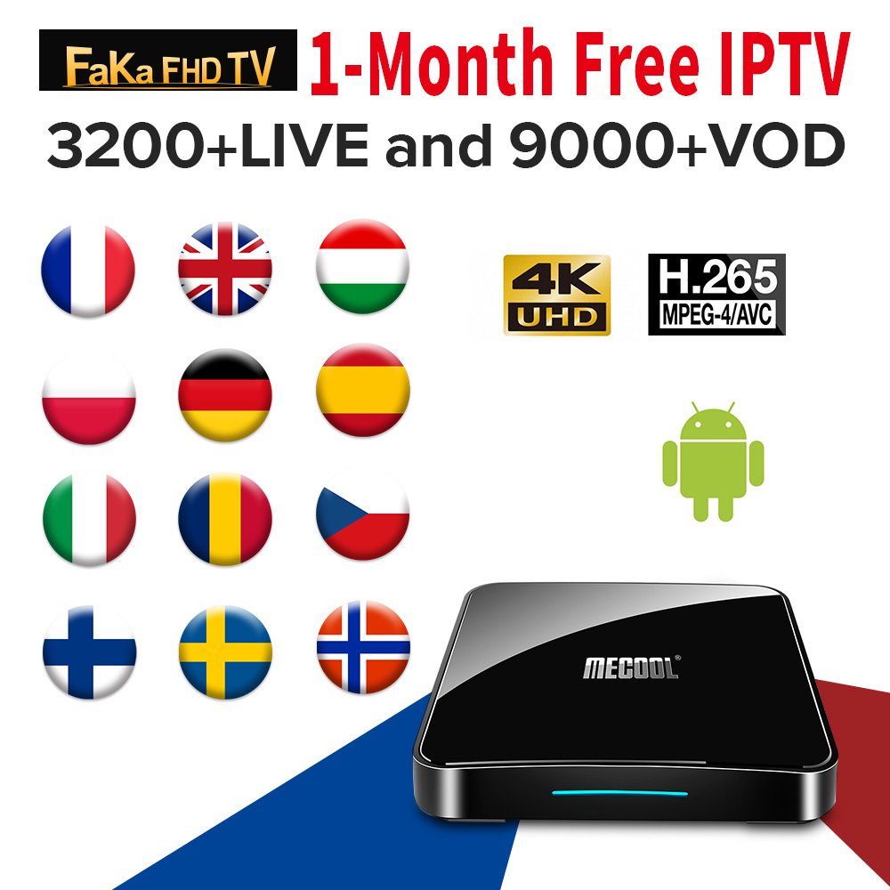 Italy IPTV France Arabic Turkey IP TV Canada Ex Yu 1 Month IPTV Free KM3 ATV Germany Hungary Android 9.0 IPTV Italian IP TV Kids-in Set-top Boxes from Consumer Electronics