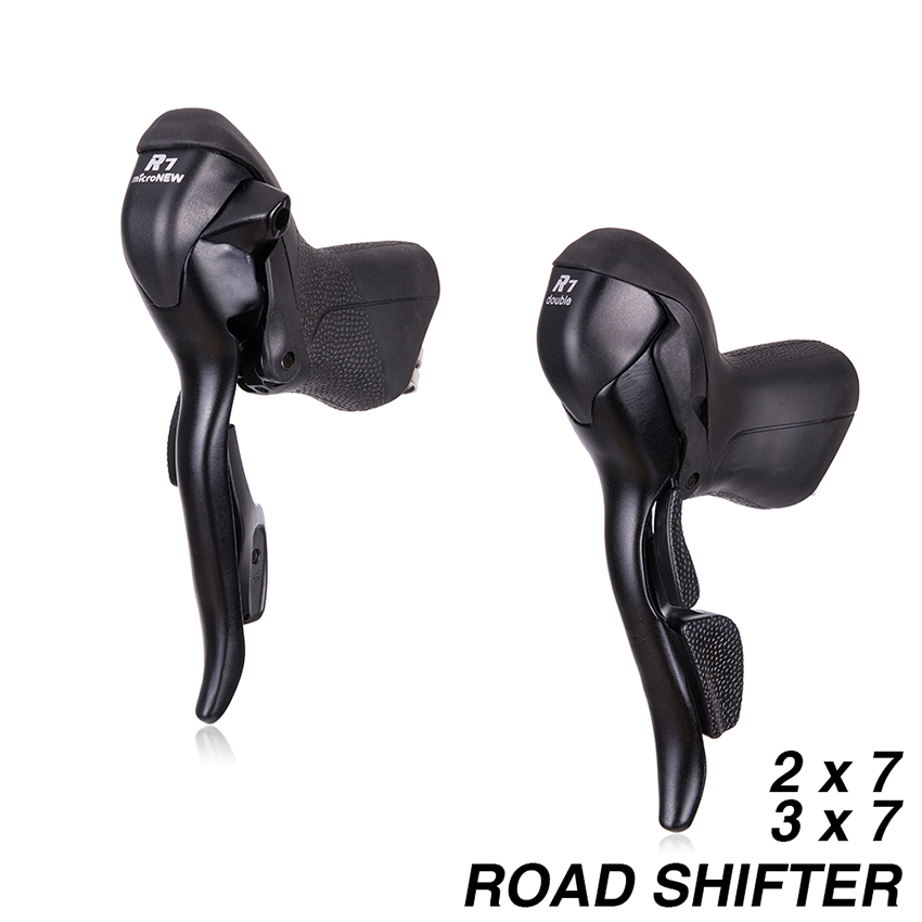 Road Bike 2*7 3*7 Bicycle Shifter Set Double 7 Speed 7s 14s 21s Brake Levers Parts for Shimano R472 R473 торговля склад 7 7