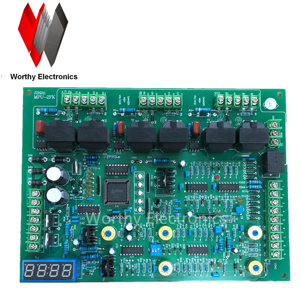 Free Shiping  High Quality MPU2FK Datasheet In English Mid Frequency Induction Heat Cast Furnace Main Control Card Board MPU-2FK