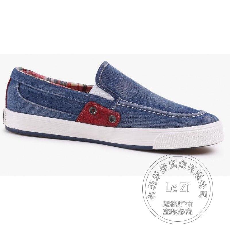 ФОТО 2017 Bucks Shoes Plain Solid Color Slip On Shoes Men Gumshoe Deodorant Outdoor Pedal China Cheap Walking Shoes Denim Platforms